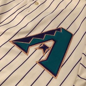 Luis Gonzalez Stitched Arizona Diamondbacks Sz L